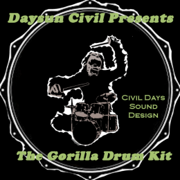 DC Gorilla Drum Kit